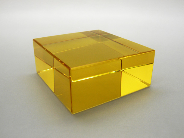 yellow-glass-machining