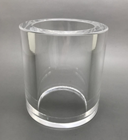 thick fused silica tube