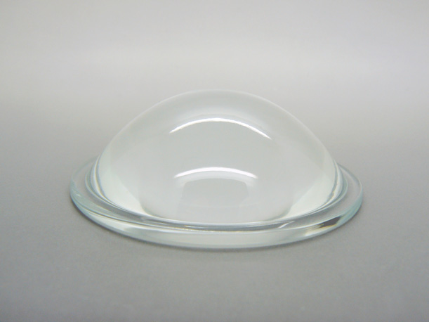 plano-convex spherical lens