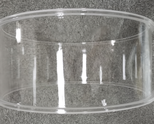 Fused silica D550mm tube