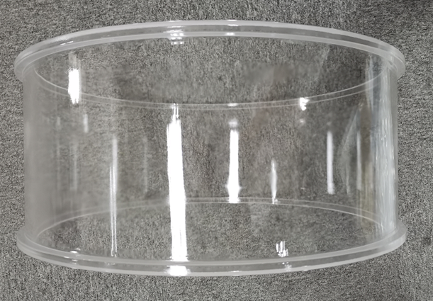 Fused silica D538mm tube