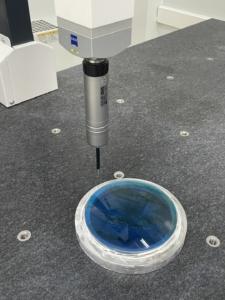 Zeiss tri dimension measurement of aspherical lens
